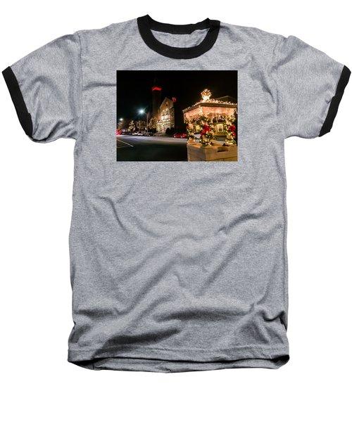 Christmas On Main Street Easthampton Baseball T-Shirt