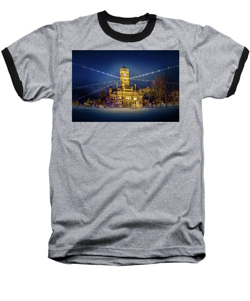 Christmas On The Square 2 Baseball T-Shirt