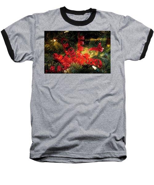 Christmas Red Baseball T-Shirt