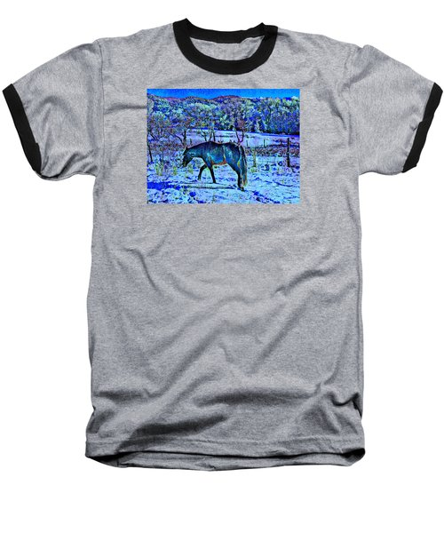 Christmas Roan El Valle IIi Baseball T-Shirt by Anastasia Savage Ealy