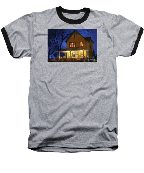 Christmas Story House Baseball T-Shirt