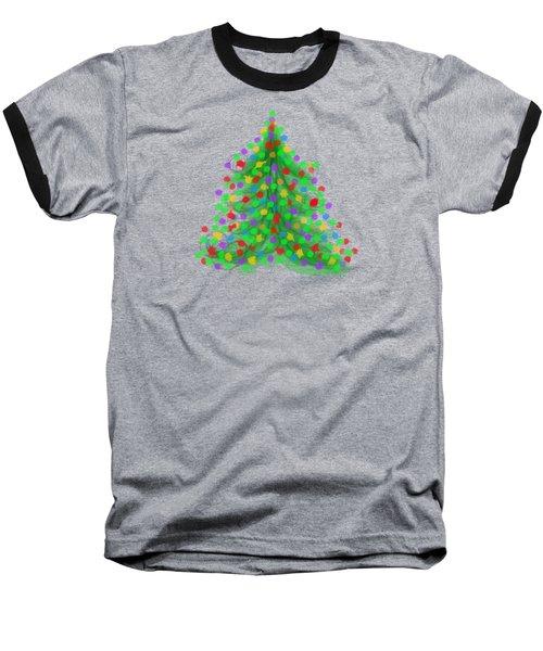 Christmas Tree Baseball T-Shirt