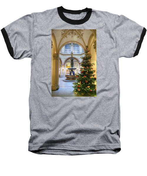 Christmas Tree In Ferstel Passage Vienna Baseball T-Shirt