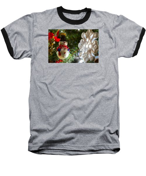 Christmas Tree Memories Baseball T-Shirt