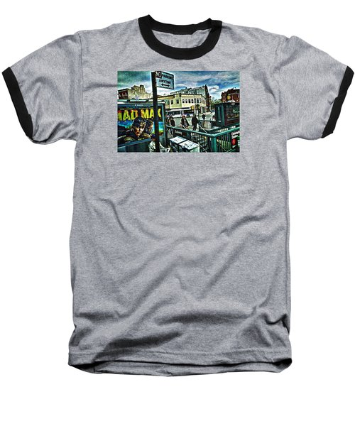 Christopher Street Greenwich Village  Baseball T-Shirt