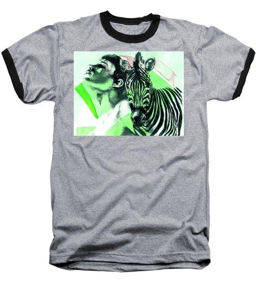 Chronickles Of Zebra Boy   Baseball T-Shirt