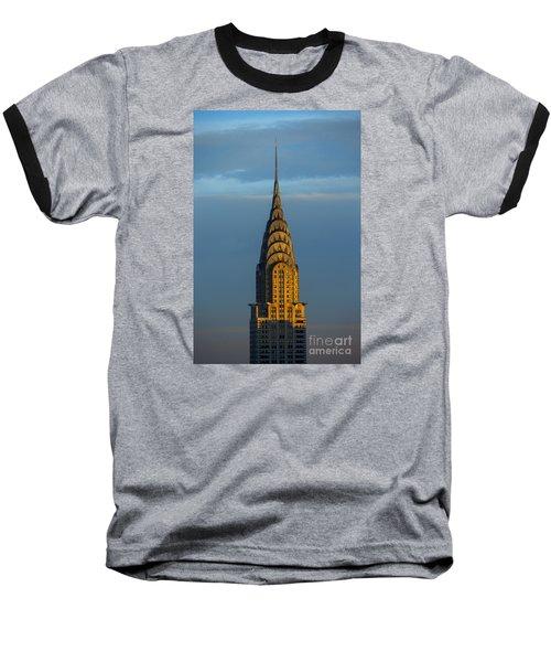 Chrysler Building In The Evening Light Baseball T-Shirt by Diane Diederich