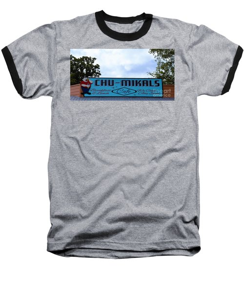 Chu - Mikals - Friendly Austin Texas Charm Baseball T-Shirt