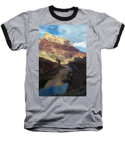 Chuar Butte Colorado River Grand Canyon Baseball T-Shirt