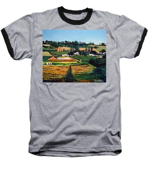 Chubby's Farm Baseball T-Shirt by Tim Johnson