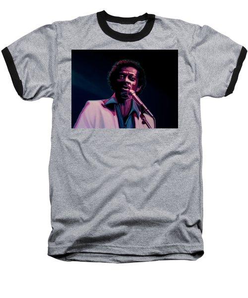 Chuck Berry Baseball T-Shirt by Paul Meijering