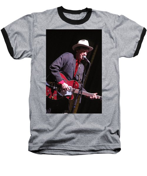 Baseball T-Shirt featuring the photograph Chuck Mead by Jim Mathis