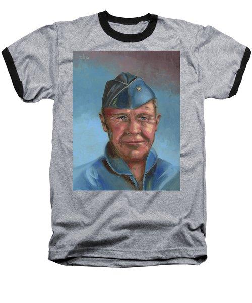 Chuck Yeager Baseball T-Shirt