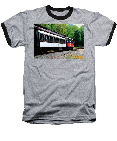Baseball T-Shirt featuring the photograph Chugging Along by RC DeWinter
