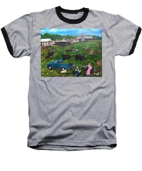 Chumhurst Farm Baseball T-Shirt