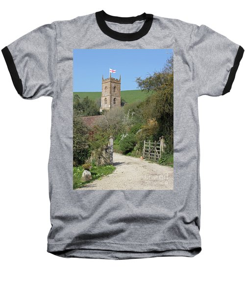 Church And The Flag Baseball T-Shirt