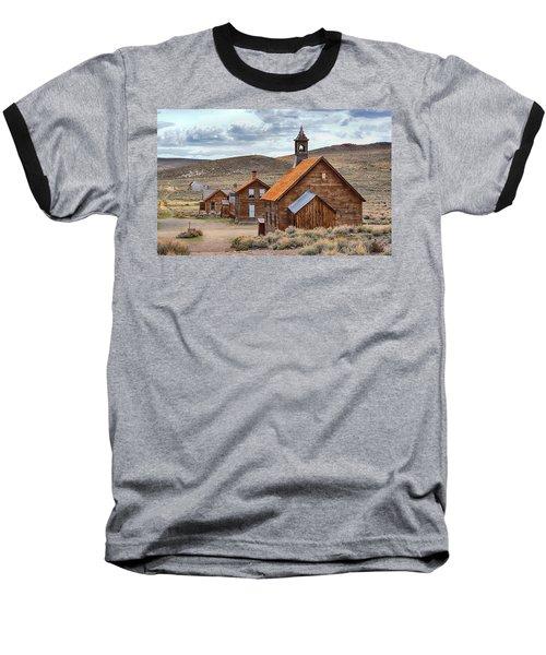 Church At Bodie Ghost Town Baseball T-Shirt