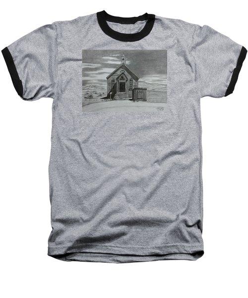 Church  At Bodie  Baseball T-Shirt by Tony Clark