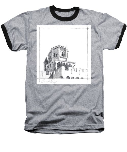 Church At Chamalieres Baseball T-Shirt
