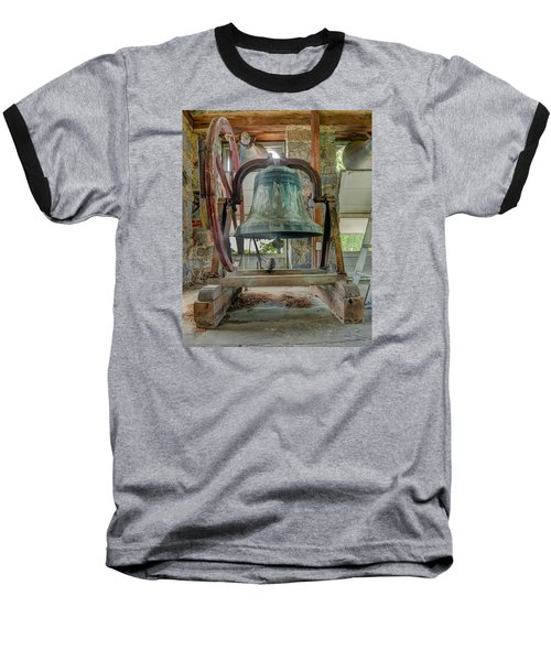 Church Bell 1783 Baseball T-Shirt by Jim Proctor