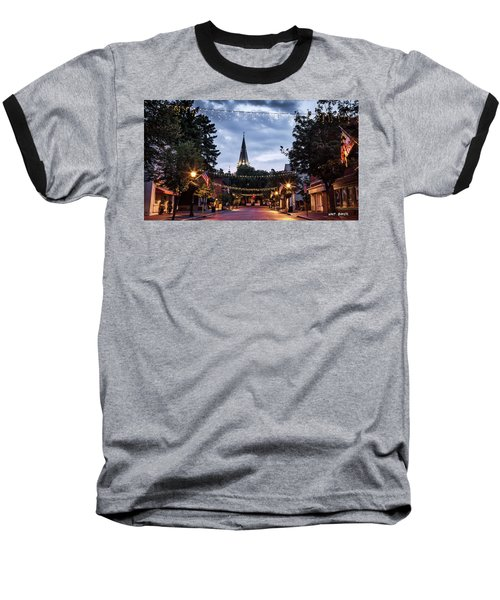 Church Circle Baseball T-Shirt