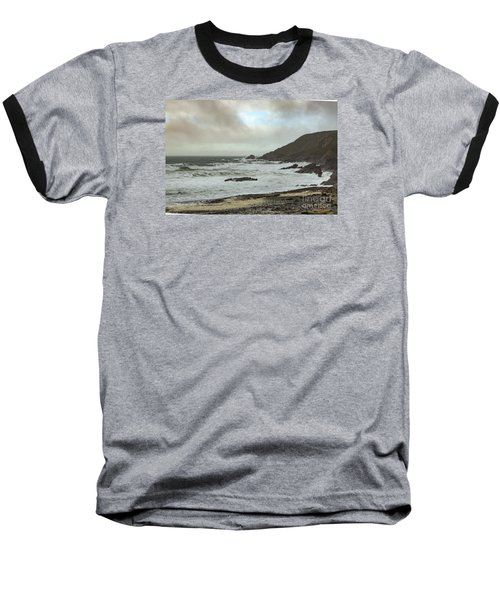 Church Cove Gunwallow Baseball T-Shirt by Brian Roscorla