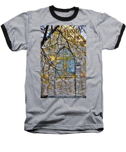 Church Ghost Baseball T-Shirt