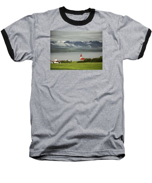 Church In Akureyri Baseball T-Shirt