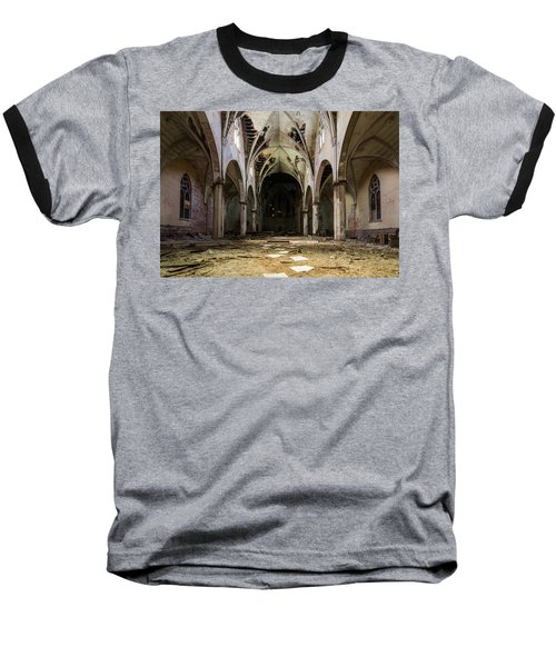 Church In Color Baseball T-Shirt