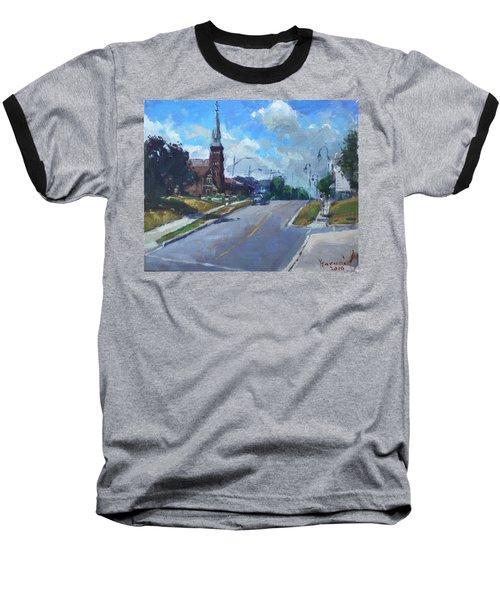 Church In Georgetown Downtown  Baseball T-Shirt