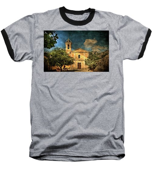 Church In Peillon Baseball T-Shirt
