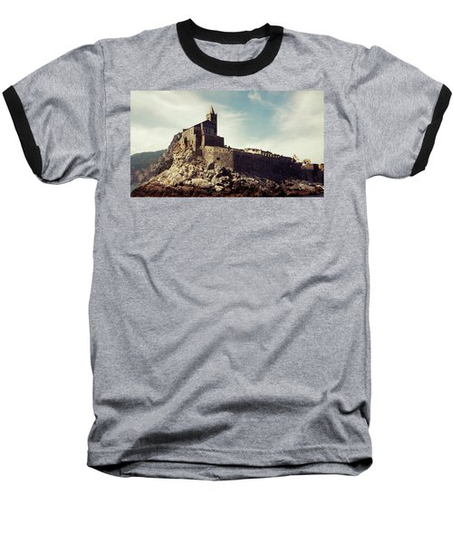 Church Of San Pietro Baseball T-Shirt by Joseph Westrupp