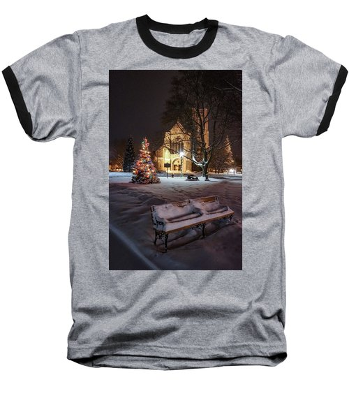 Church Of St Mary St Paul At Christmas Baseball T-Shirt