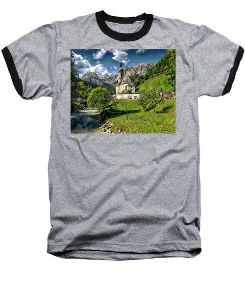 Church Of St. Sebastian Baseball T-Shirt