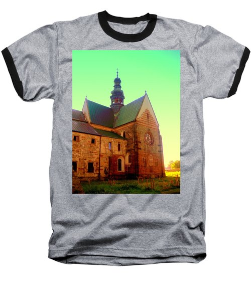 Church Of The Blessed Virgin Mary And St. Florian In The Wachock Baseball T-Shirt