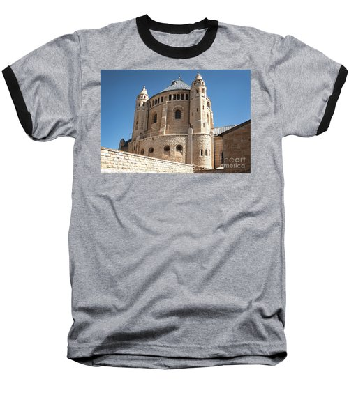 Baseball T-Shirt featuring the photograph Church Of The Dormition by Mae Wertz