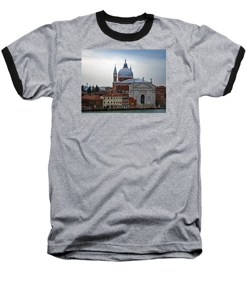 Church Of The Santissimo Redentore On Giudecca Island In Venice Italy Baseball T-Shirt