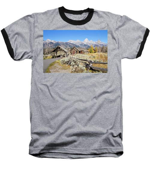 Church Of The Transfiguration Baseball T-Shirt by Shirley Mitchell