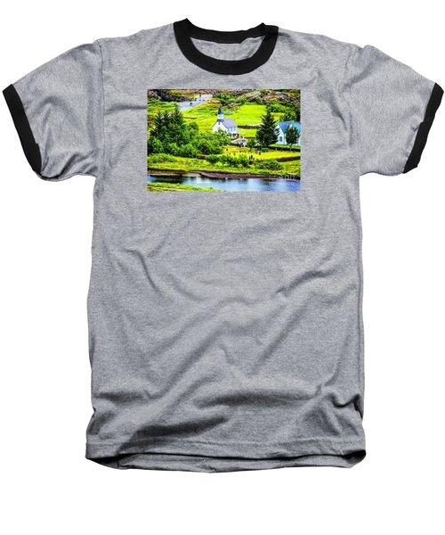 Church On The Green Baseball T-Shirt