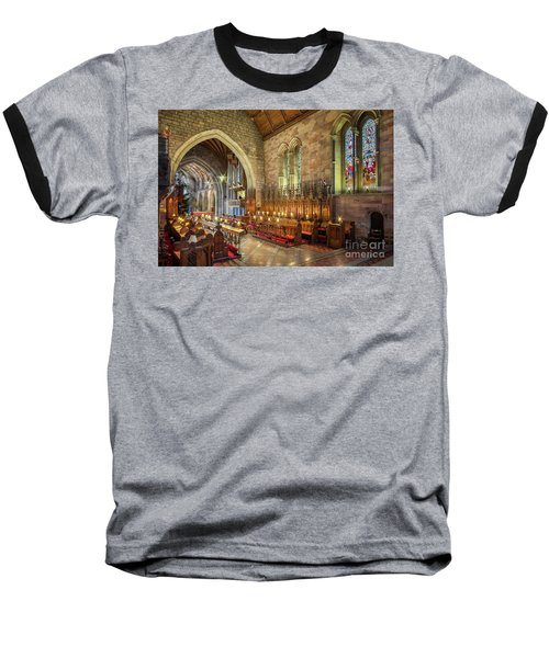 Church Organist Baseball T-Shirt