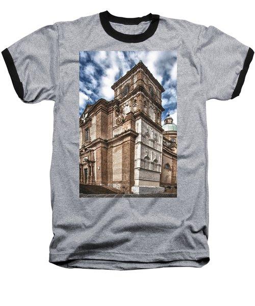 Church Baseball T-Shirt by Patrick Boening