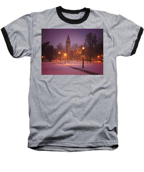 Church Sidewalk Baseball T-Shirt