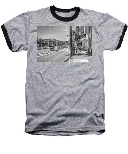 Church St At Market St San Francisco Baseball T-Shirt