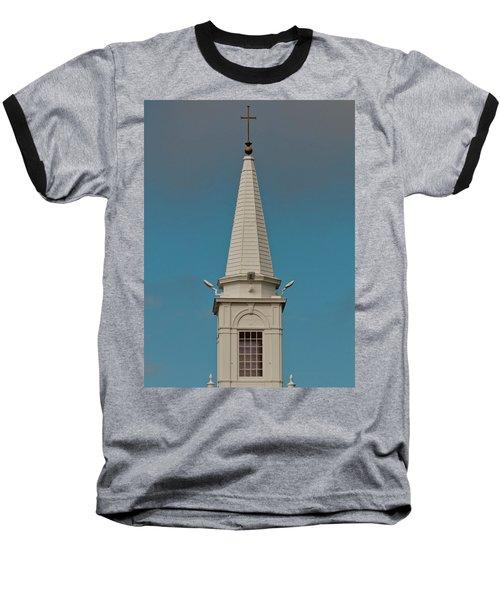 Church Steeple Baseball T-Shirt