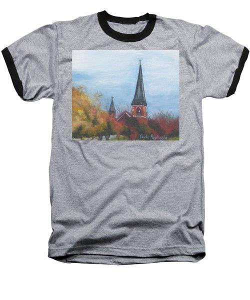 Church Steeple Baseball T-Shirt