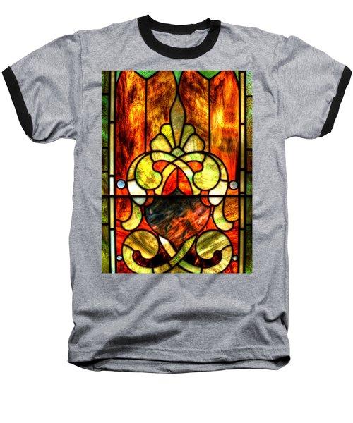 Church Window Baseball T-Shirt