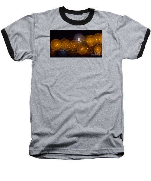 Baseball T-Shirt featuring the photograph Church With Circle Bokeh by Odon Czintos