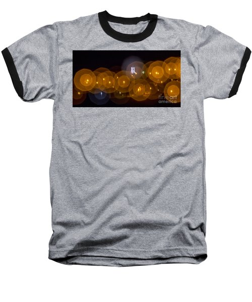 Church With Circle Bokeh Baseball T-Shirt