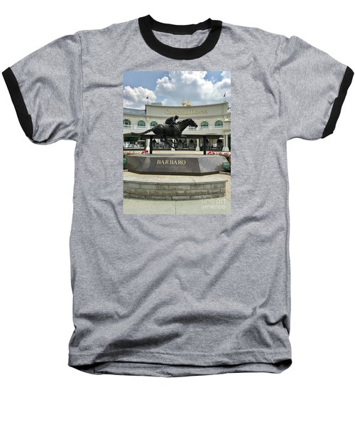 Churchill Downs Barbaro 2 Baseball T-Shirt