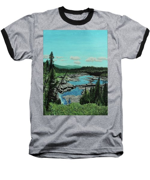 Churchill River Baseball T-Shirt